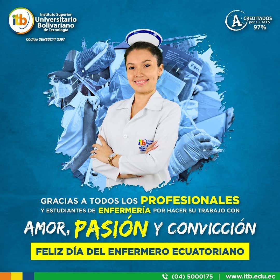 Día del enfermero ecuatoriano