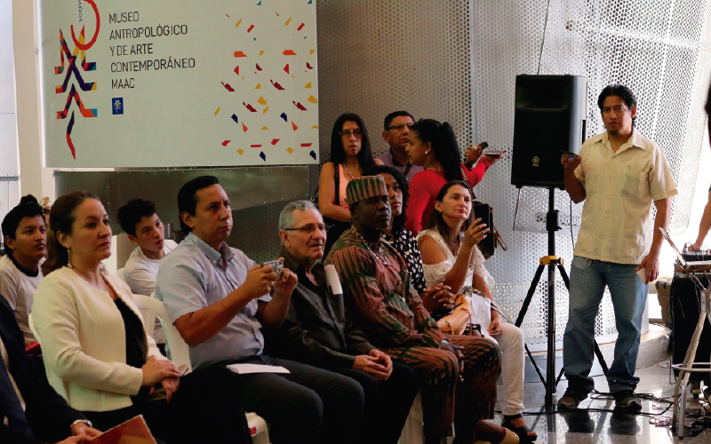 Publico asistente al evento